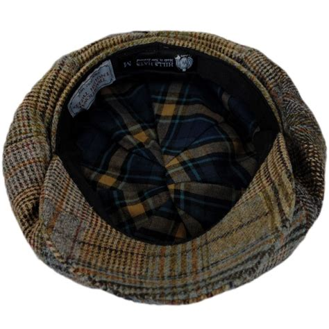 Patchwork Tweed Cap - hats of new zealand patchwork tweed wool big