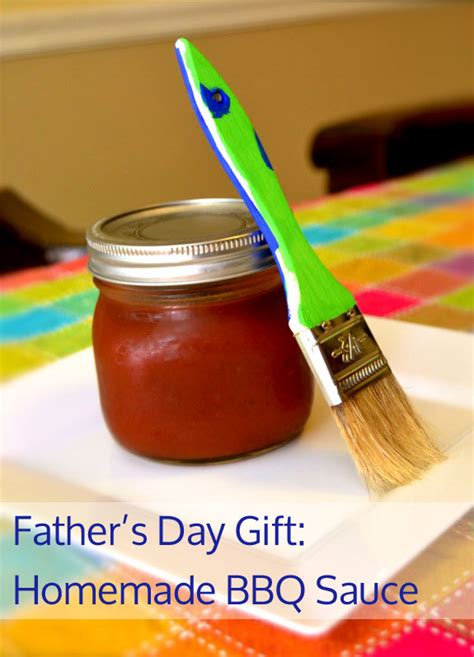 Homemade Christmas Gifts Grandparents - father s day gift kids can make bbq sauce inner child fun