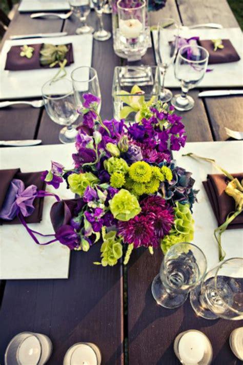 moderne tischdeko hochzeit tischdeko zur hochzeit in lila farbe 34 bilder