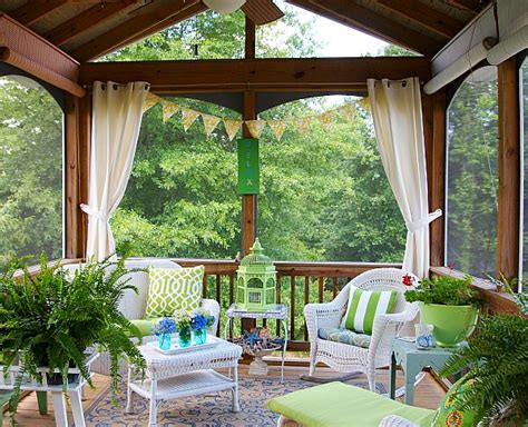 how to keep from blowing in on porch join me in the screened porch a cultivated nest