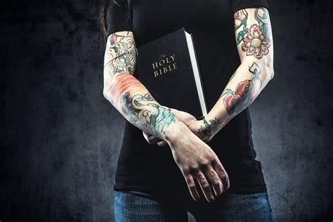 learn what the bible says about tattoos