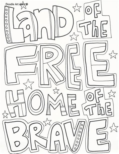 printable coloring pages for memorial day memorial day coloring pages doodle art alley