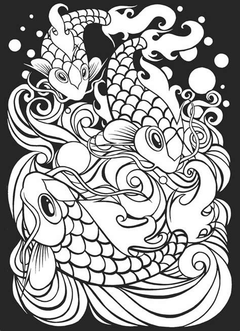 free coloring pages of art japan