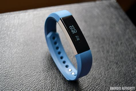 Fitbit Alta Blue fitbit alta review android authority