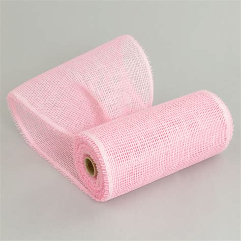 Paper Mesh Craft - 10 quot paper mesh roll blush pink 10 yards