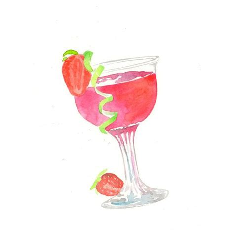strawberry margarita clipart cocktail clipart strawberry margarita pencil and in