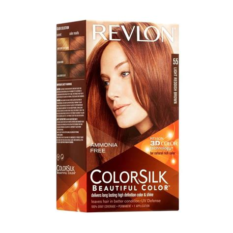 Revlon Warna Rambut jual revlon colorsilk pewarna rambut 55 light reddish