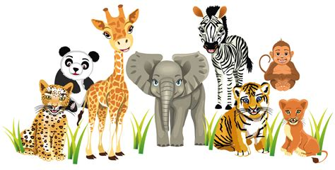 zoo animal wall stickers zoo animals wall stickers totally movable buy now ebay