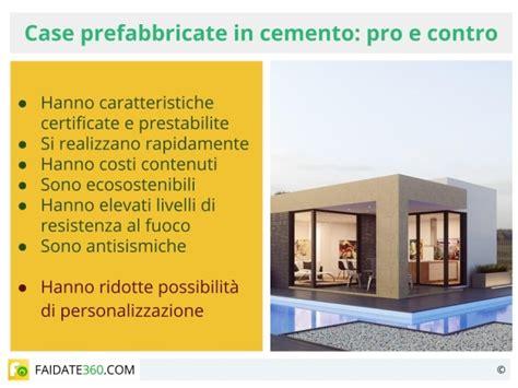prefabbricate opinioni prefabbricate in cemento caratteristiche prezzi