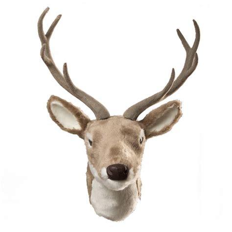 reindeer printable wall art wall hanging reindeer head by the christmas home