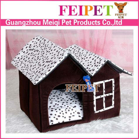 double dog house for sale hot sale villa style cat house soft fabric dog house patent double pet house buy dog