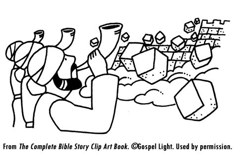 Joshua 7 Coloring Pages by Battle Of Jericho Coloring Page Coloring Home