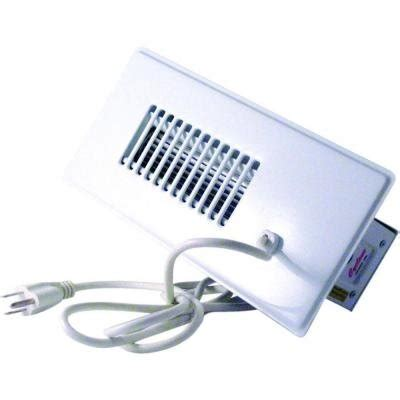 cyclone automatic register booster fan white 4x10 heat ac
