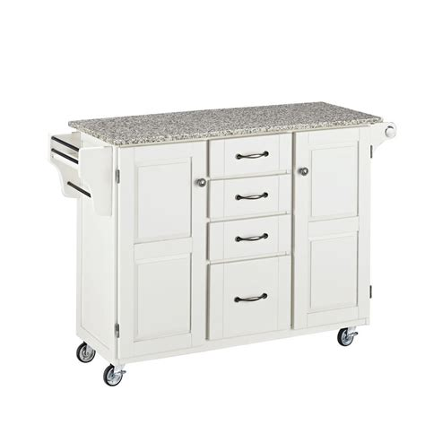 large portable kitchen island large portable kitchen island white base w speckled