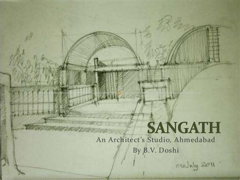 B V Doshi Sketches by Sangath An Architect S Studio
