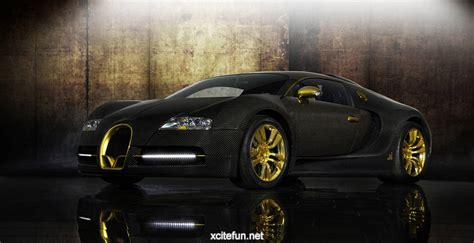 Golden Bugatti Veyron Bugatti Veyron The Golden Wallpapers Xcitefun Net