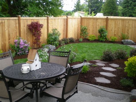 Small Backyard Pictures Small Backyards Traditional Landscape Seattle By