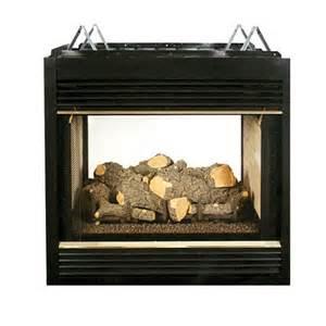 fmi santa fe 36 inch direct vent 2 sided fireplace