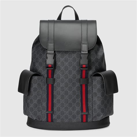 Backpack Gucci Gd 1 soft gg supreme backpack gucci s backpacks 495563k9r8x1071