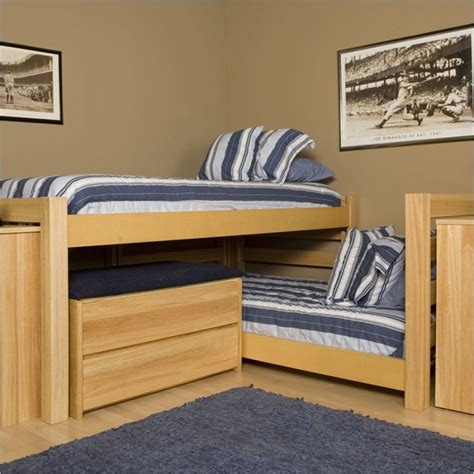 corner bunk beds stylish bunk beds for all children for space saving in