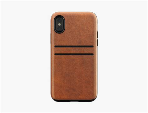 Nomad Clear For Iphone X Brown Original best cases for iphone x our picks gear patrol