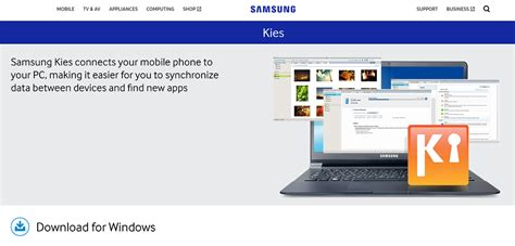 samsung software to connect mobile with pc how to get samsung mobile software update with kies