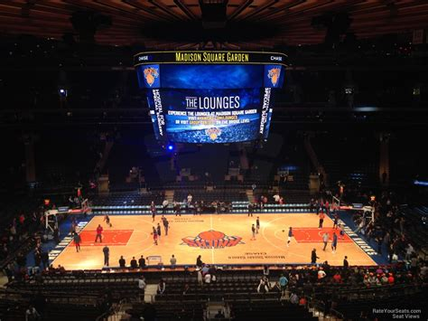 section 211 madison square garden madison square garden section 211 new york knicks