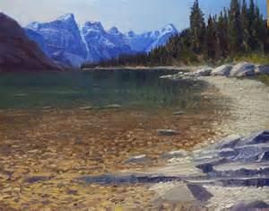 Moraine lake banff national park canada by tom siebert