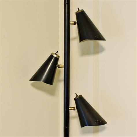 floor to ceiling tension rod vintage l pole l tension pole l black mid