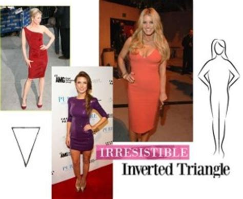 inverted triangle body and face shape celebrities cracking the body enigma the irresistible inverted