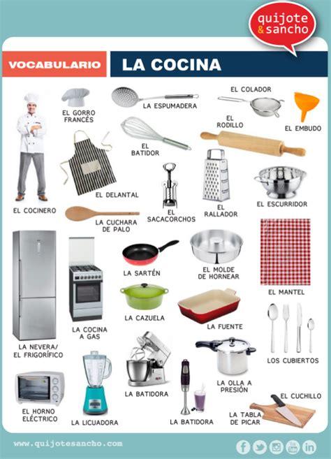 imagenes utensilios de cocina en ingles l 225 minas para trabajar el vocabulario co cocina