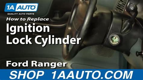 install replace worn  sticking ignition key lock