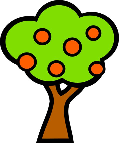 fruit tree clipart fruit trees clip at clker vector clip