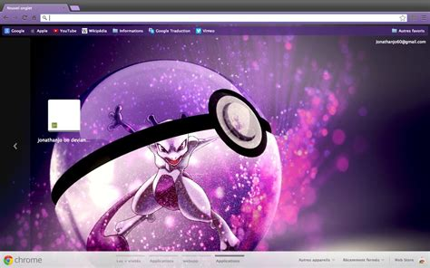 firefox themes pokemon chrome firefox theme mewtwo into a pokeball by