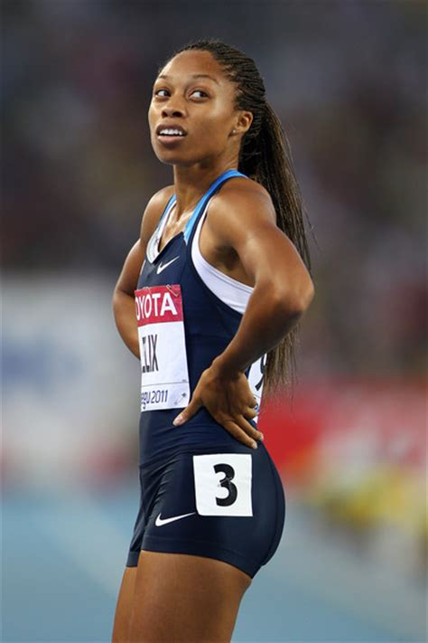 allyson felix body allyson felix pictures 13th iaaf world athletics