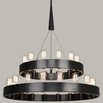 candelaria chandelier candelaria 2 tier chandelier by robert at lumens