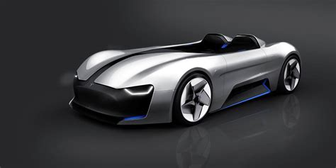 tesla roadster concept tesla roadster fan render reminds us of bmw s gina concept