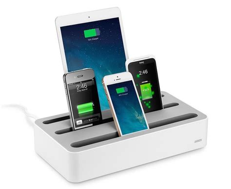 Device Charging Station | organized charging for mobile devices core77