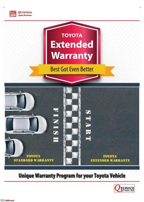 Toyota Extended Warranty Toyota India To Offer Extended Warranty Upto 7 Years