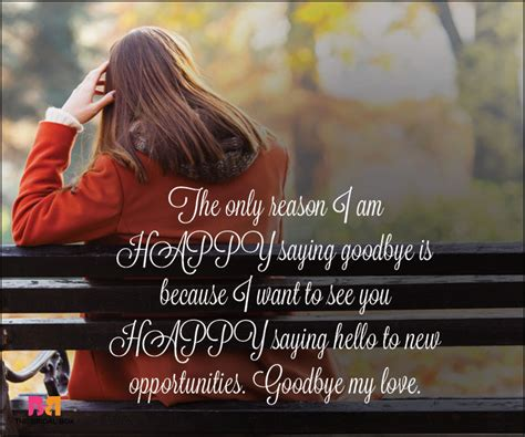 goodbye love quotes  quotes    time    part
