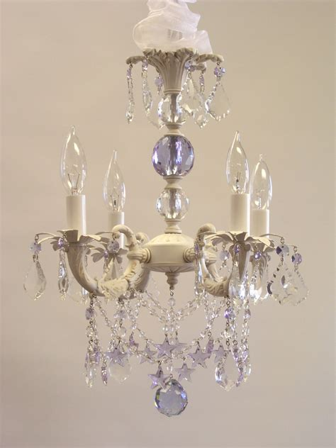 Small Shabby Chic Chandelier Shabby Chic Cottage Style Mini Chandelier Sugar