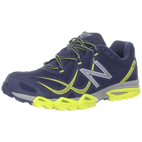 mens new balance trail running shoes new balance mens mt710 trail running shoe in blue for