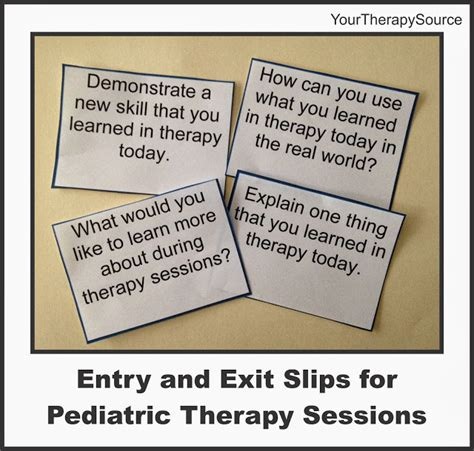 entry and exit free entry and exit slips for pediatric therapy your