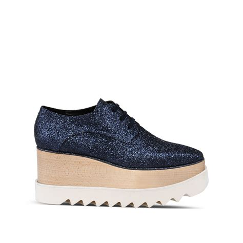 Shopping Stella Boots By Twenty Two Shoes by Stella Mccartney Blue Elyse Shoes In Blue Classic