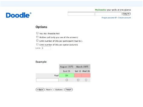 doodle poll limit scheduling tools doodle and more