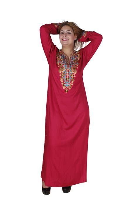 Ar Kaftan orientalischer damen kaftan in rot