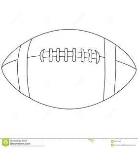 Football Drawing Template by American Football Outline Stock Illustration Image