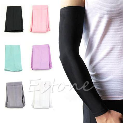 cool uv block arm sleeves aliexpress buy 1pair sun uv block arm sleeves cool warmer cover cycling golf fishing