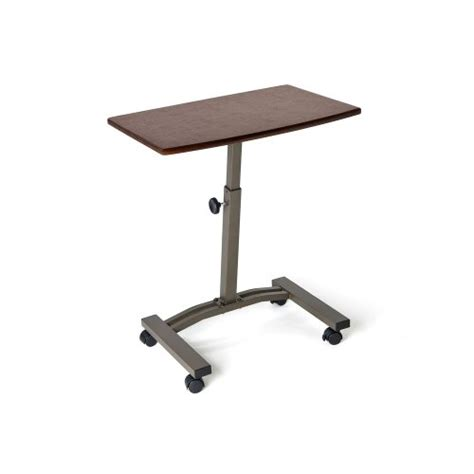 Laptop Desk With Wheels Mobile Laptop Notebook Table Workstation Cart Portable Stand W Wheels Adjustable Ebay