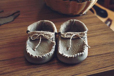 How To Make Handmade Slippers - talia christine baby moccassins